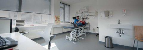 Topmoderne klinik med nyeste udstyr